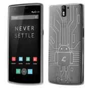Cruzerlite Bugdroid Cover Durchsichtig OnePlus One