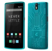Cruzerlite Bugdroid Cover Teal OnePlus One