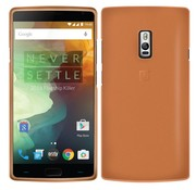 Orzly Flexi-Slim Cover Orange OnePlus Two