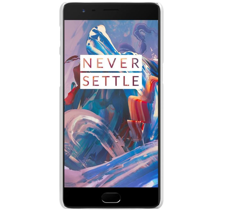Frosted Shield Cover Weiß OnePlus 3/3T