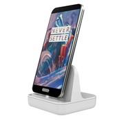 OPPRO Docking Weiß OnePlus One/X Micro USB