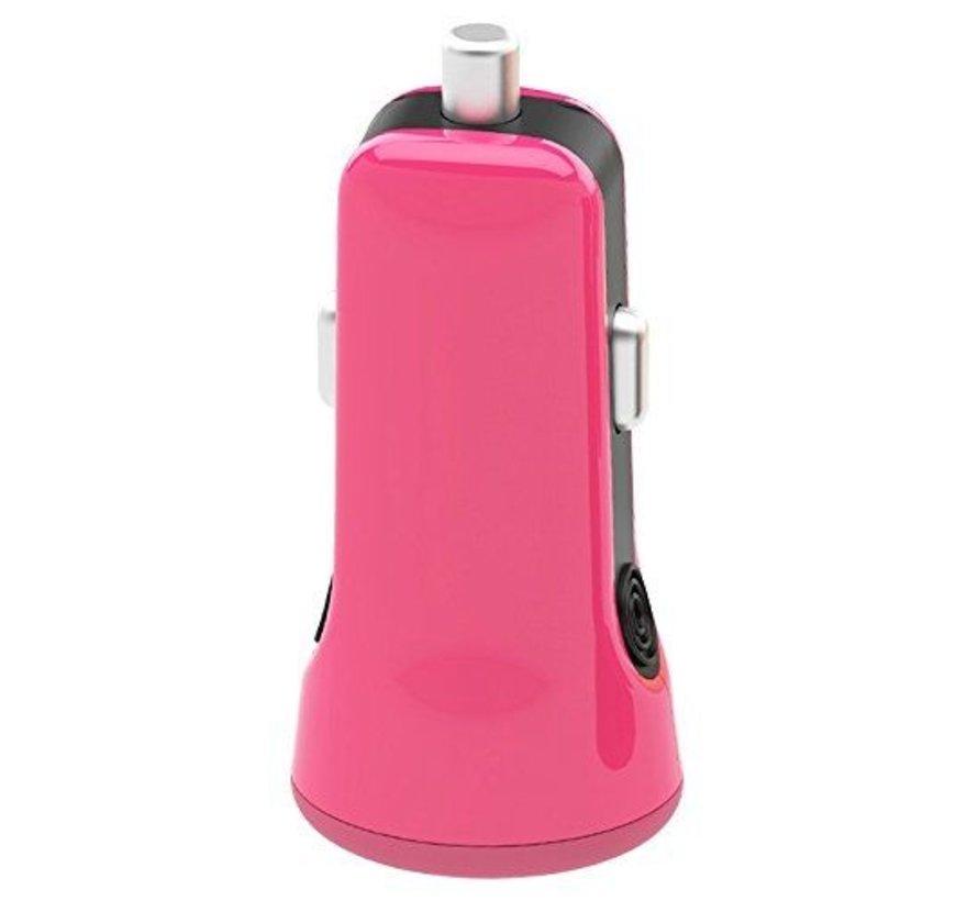 Auto USB Ladegerät Pink