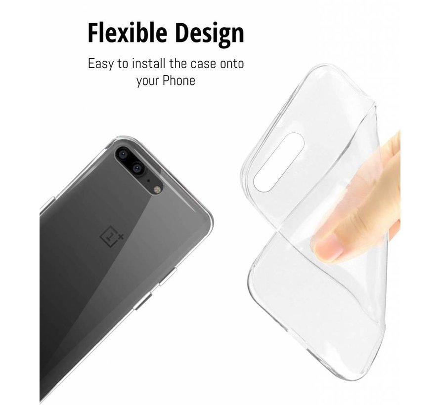 FlexiCover Durchsichtig OnePlus 5