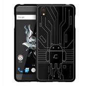 Cruzerlite Bugdroid Cover Schwarz OnePlus X