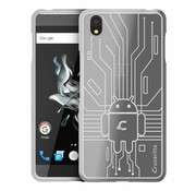Cruzerlite Bugdroid Cover Clear OnePlus X