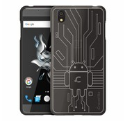 Cruzerlite Bugdroid Cover Smoke OnePlus X