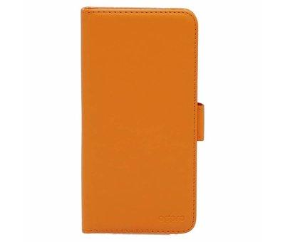 OPPRO Booktype Klapp Hülle Orange OnePlus 5