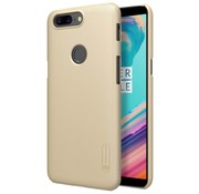 Nillkin Frosted Shield Hülle Gold OnePlus 5T