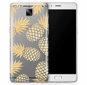 OPPRO PrintSerie Gold Pineapple Hülle OnePlus 3/3T