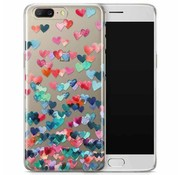 OPPRO PrintSerie Hearts Hülle OnePlus 5