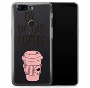 OPPRO PrintSerie Coffee Hülle OnePlus 5T