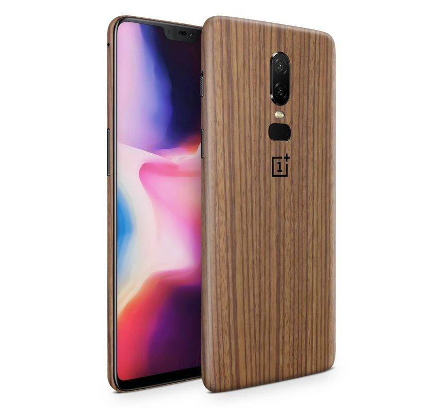 3M Zebra Wood OnePlus 6 Skin