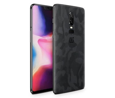 dskinz 3M Camo Schwarz OnePlus 6 Skin