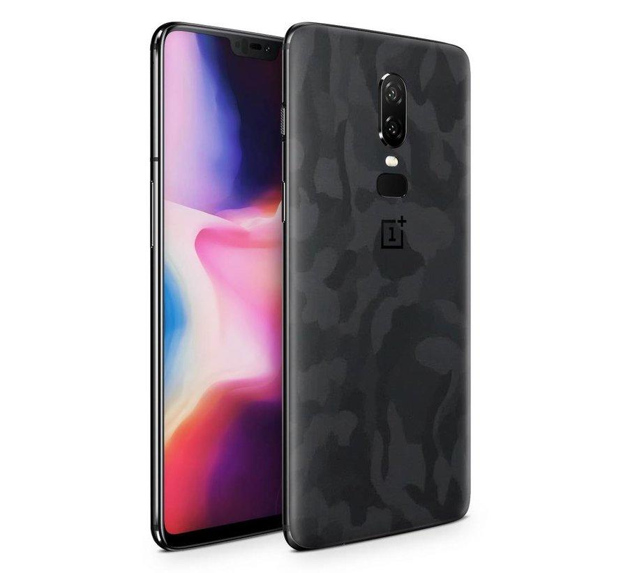 3M Camo Schwarz OnePlus 6 Skin