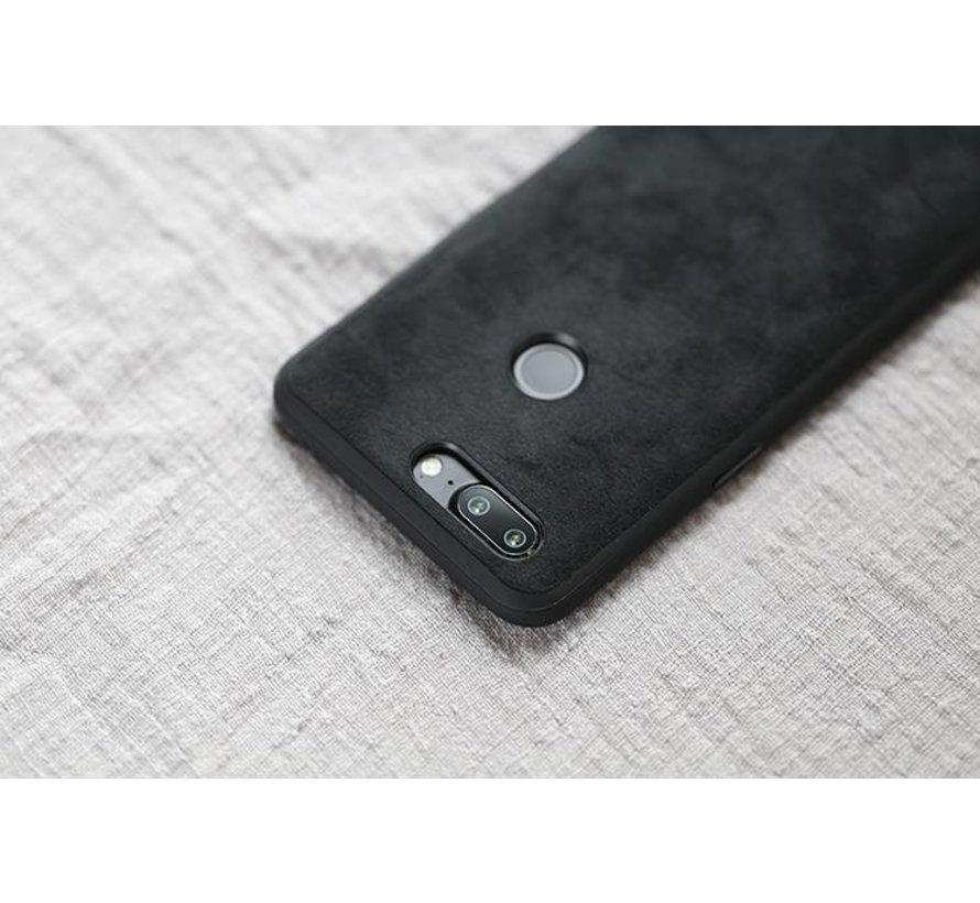 OnePlus 5T Hülle Premium Alcantara