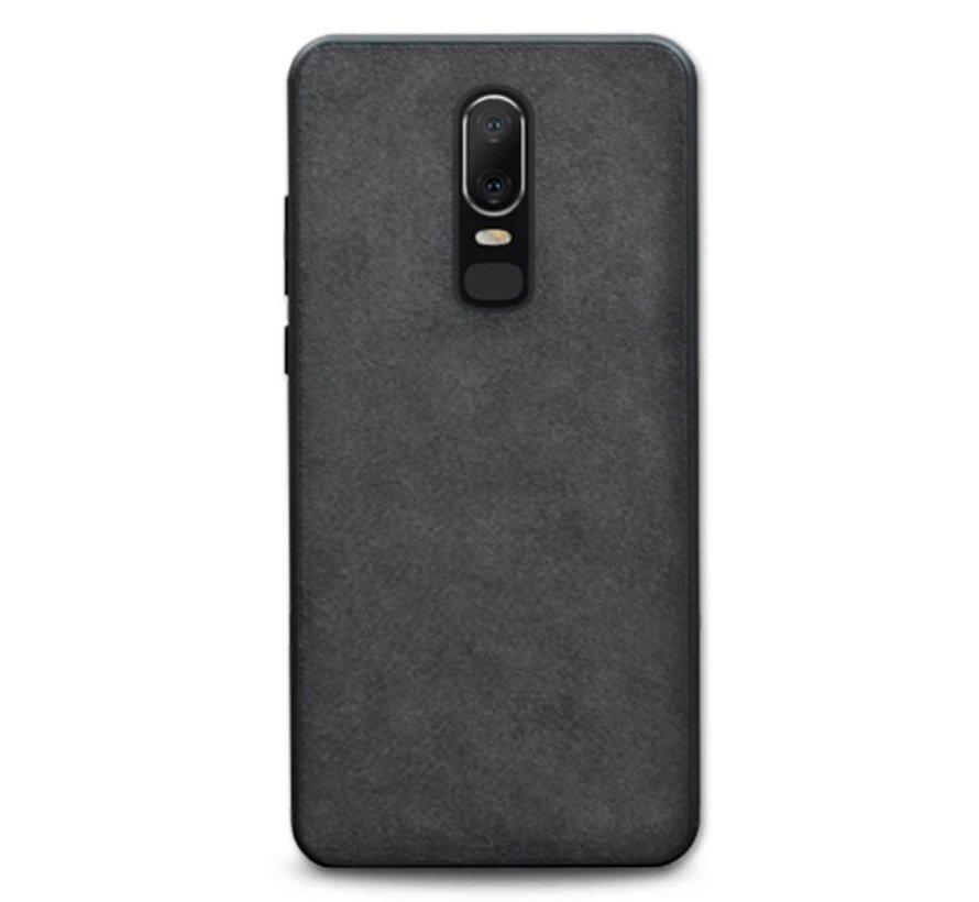 OnePlus 6 Hülle Premium Alcantara