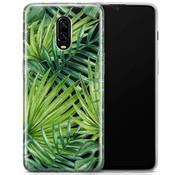 OPPRO OnePlus 6T Hülle Palm BLadegeräten