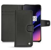 Noreve OnePlus 6T / 7 Leder Booktype Hülle Schwarz