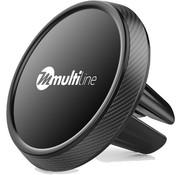 Multiline Prime Magnetische Auto TelefoonHalter Ventilatierooster Schwarz