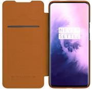 Nillkin OnePlus 7 Pro Slim Booktype Hülle QIN Braun
