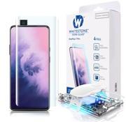 Whitestone Dome OnePlus 7 Pro Gehärtetes Gehärtetes Glas Displayschutzfolie Full Cover UV
