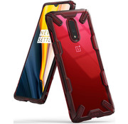 Ringke OnePlus 7 Hülle Fusion X Rot