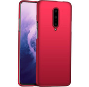 OPPRO OnePlus 7 Pro Hülle Ultra Slim Grip Rot
