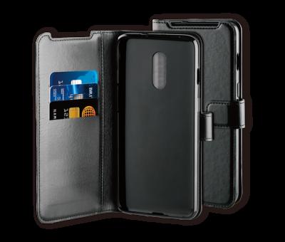 BeHello OnePlus 7 Hülle Gel Booktype Schwarz