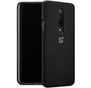 OnePlus 7 Pro Bumper Case Nylon Schwarz