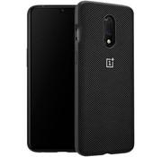 OnePlus 7 Nylon Bumper Case Schwarz