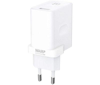 OnePlus USB-Reiseladegerät Warp Charge 30 Netzteil (EU) Weiß