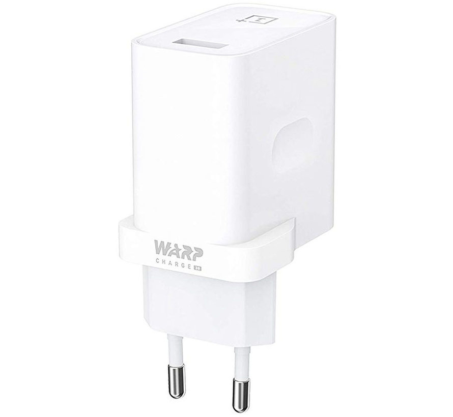USB-Reiseladegerät Warp Charge 30 Netzteil (EU) Weiß