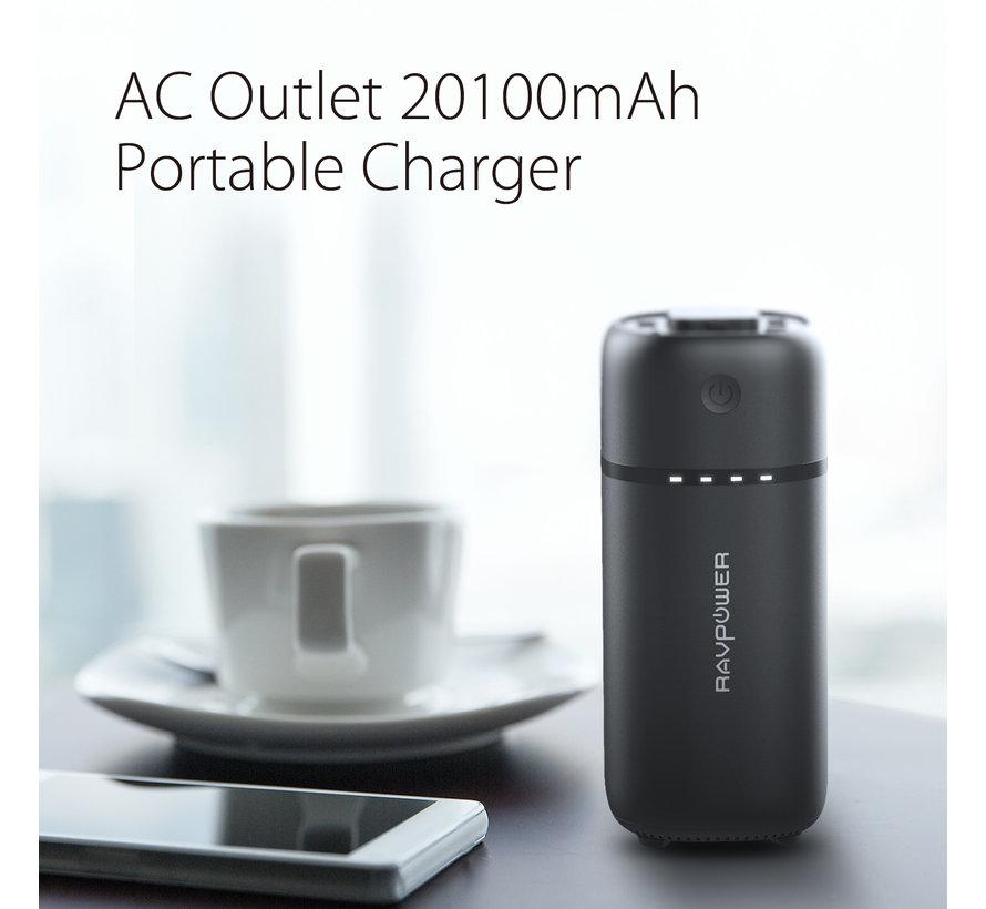 OnePlus Powerbank 20.100 mAh Powerstation Schwarz