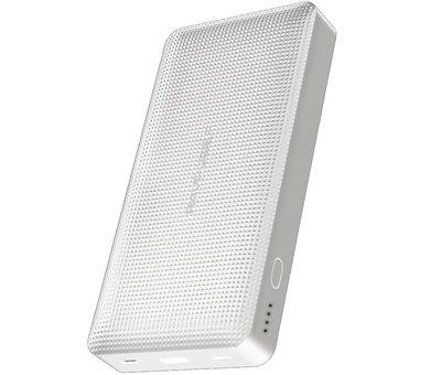 RAVPower OnePlus Powerbank 20.100 mAh Weiß Ultraflaches Design