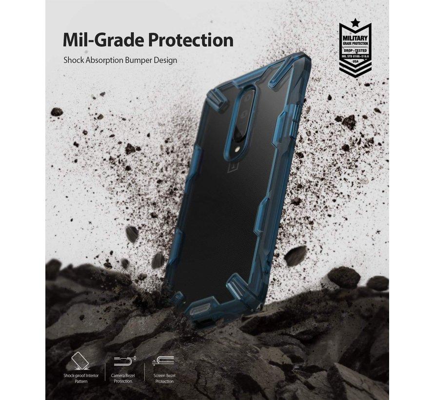 OnePlus 7 Pro Case Fusion X Blau