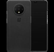 OnePlus 7T Sandstein-Schutzhülle Schwarz
