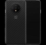 OnePlus 7T Karbon Bumper Case Schwarz