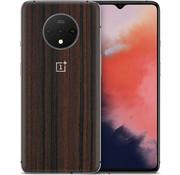 dskinz OnePlus 7T Skin Dunklem Holz