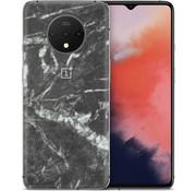 dskinz OnePlus 7T Skin Schwarzer Marmor