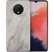 dskinz OnePlus 7T Skin Marmor Weiß
