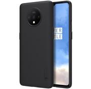 Nillkin OnePlus 7T Hülle Super Frosted Shield Schwarz