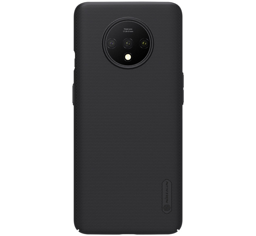 OnePlus 7T Hülle Super Frosted Shield Schwarz