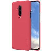 Nillkin OnePlus 7T Pro Hülle Super Frosted Shield Rot