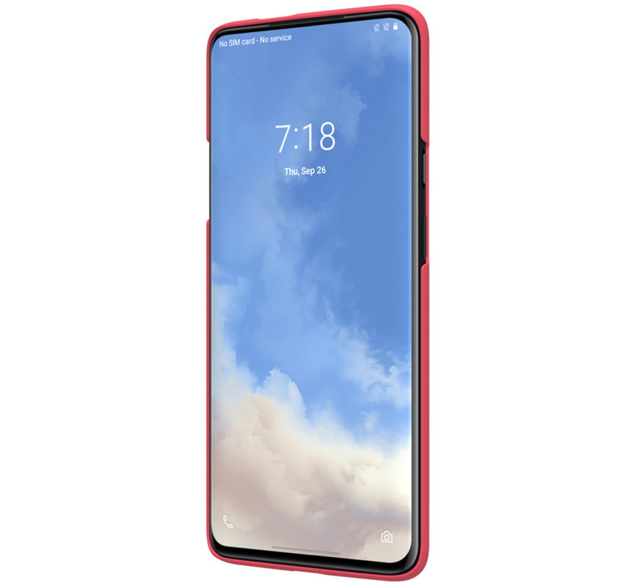 OnePlus 7T Pro Hülle Super Frosted Shield Rod