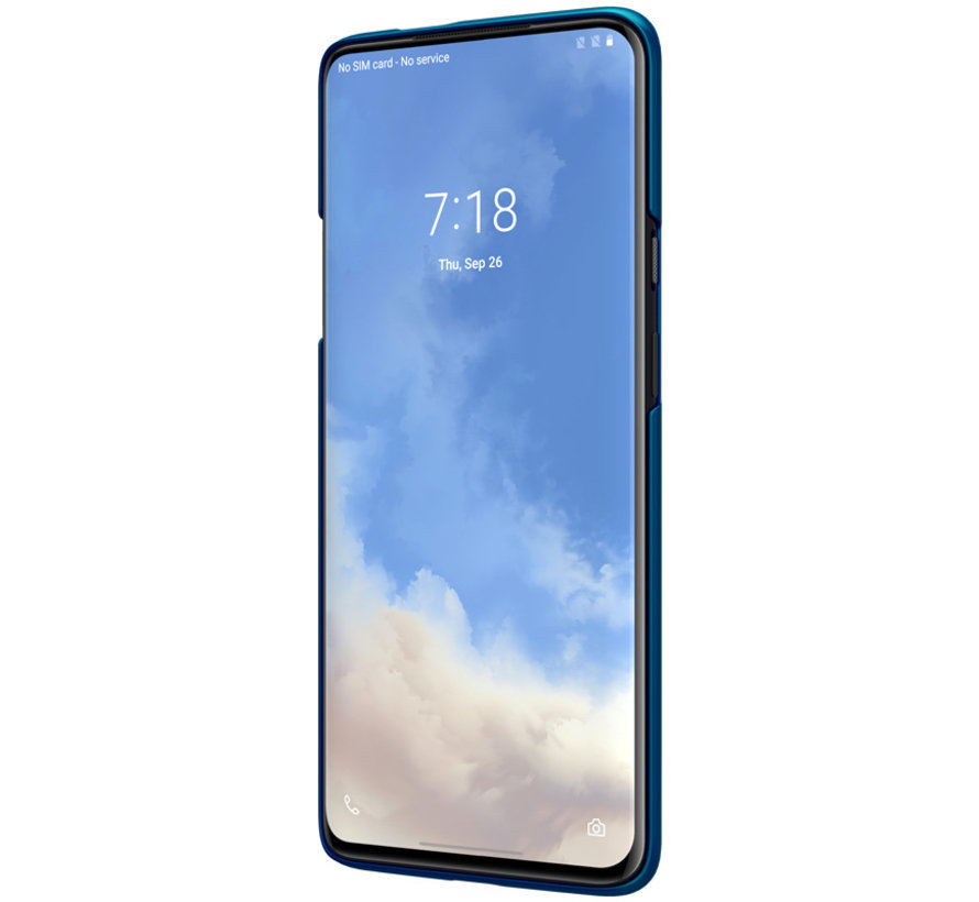 OnePlus 7T Pro Hülle Super Frosted Shield Peacock Blue