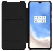 Nillkin OnePlus 7T Flip Case Qin Schwarz