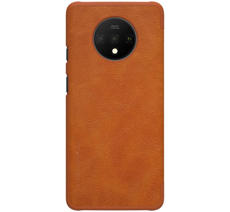 OnePlus 7T Flip Case Qin Braun