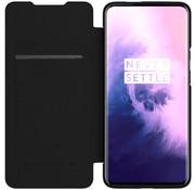 Nillkin OnePlus 7T Pro Flip Case Qin Schwarz