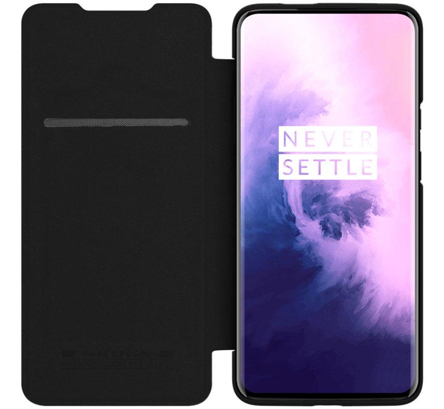 OnePlus 7T Pro Flip Case Qin Schwarz