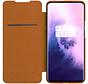 OnePlus 7T Pro Flip Case Qin Braun